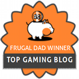 Frugal Dad Winner - Top Gaming Blog